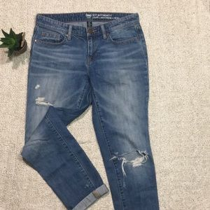 GAP| Sexy Boyfriend Distressed Jeans
